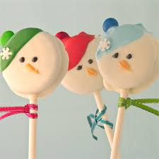 oreo snowman pops easybaked