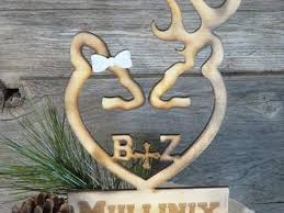antler cake topper oh deer wedding cake topper monogram lazerworx design studio