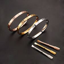 titanium steel love bracelet images Bracelet type bracelets fine or fashion style fashion diameter jpg