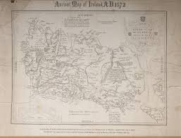 Ancient Map Ancient Map Of Ireland A D 1572 Logainm Ie