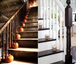 treppe dekorieren treppe dekorieren mit kuerbissen moderne herbst dekoideen freshouse