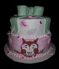 owl birthday cakes coolest owl cakes