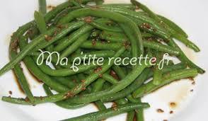 cuisiner des haricots verts haricots verts au sésame recette accompagnement haricot vert