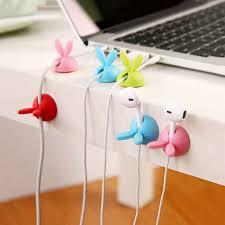 Desk Clips Aliexpress Com Buy Plastic 4pcs Lot Lovely Desk Tidy Organiser