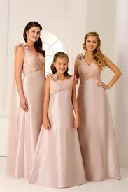 matching bridesmaid and flower dresses choice image