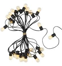 Commercial Grade Patio Light String by Commercial Outdoor String Lights