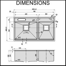 stainless steel kitchen sink sizes stainless steel kitchen sink 1 5mm thick 60 40 bowl renovatorsto