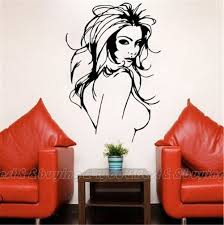 aliexpress com buy sexy girl home decor wall mural vinyl decal aliexpress com buy sexy girl home decor wall mural vinyl decal wall salon women lady window sticker free shipping 40309018 from reliable window sticker