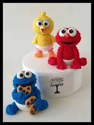 sesame cake toppers 37 best elmo cakes images on elmo cake sesame streets