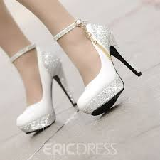 wedding shoes pretty high heels platform tassel wedding shoes small one yard