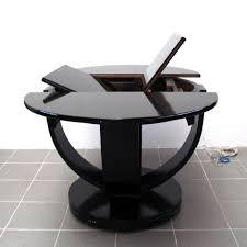 Wohnzimmertisch Antik Ausziehbarer Tisch Schwarz Artdeco Original Antik Esstisch