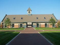 Rock Barn Equestrian Center Horse Barn In Upperville Virginia With Beautiful Stonework And