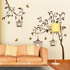 charming wall sticker ideas for living room cheap decals stickers