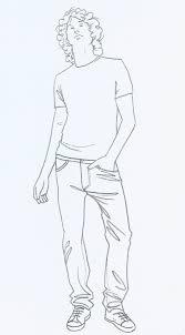 tag fashion drawing male figure templates archives latest fashion