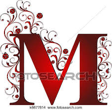 stock images of block letter m in ground k10407096 search stock