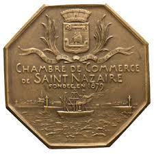 chambre de commerce de nazaire medailles periode moderne chambre de commerce nazaire loire
