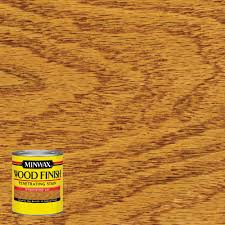 Home Depot Wood Stain Colors by Minwax 8 Oz Wood Finish Ipswich Pine Oil Based Interior Stain