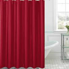 Red Shower Curtain Hooks Shower Curtains U0026 Rods Extra Long Shower Curtains Jcpenney