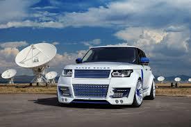 land rover lumma range rover lumma clr r white and blue topcar