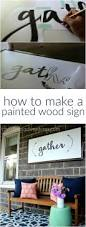 Home Design 3d Gold Tutorial by Diy Large Wood Sign Tutorial Diy Tutorial Wood Signs And Tutorials