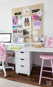 Anna Griffin Craft Room Furniture - craft room work table using file cabinets in my own style