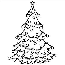 100 ideas plain christmas tree coloring page on gerardduchemann com