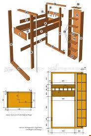 loft bed plans u2022 woodarchivist