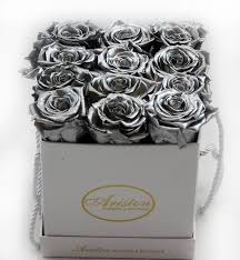 silver roses everlasting silver roses ariston flowers and boutique