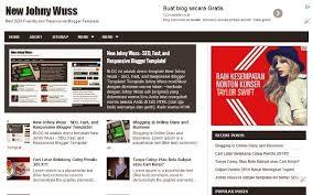 download template blogger seo friendly jadibaru
