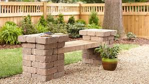 how to build a patio table build a patio block bench