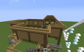 wooden house tips creative mode minecraft java edition