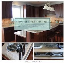 Organizing Kitchen Tips Organized Kitchen Home Tour Kitchen Drawers Organizations