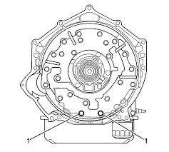 2003 silverado 2500 is leaking transmission fluid plate trans