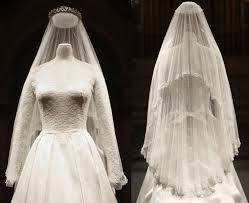 display wedding dress kate middleton s wedding dress made available to view at