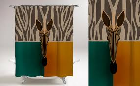 Teal And Brown Shower Curtain 75 Of The Coolest Shower Curtains For A Unique Bathroom