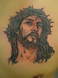 jesus amazing face tattoo design tattoomagz