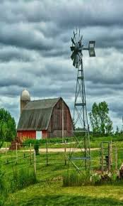 Red Barn Mt Vernon Mo 1183 Best Barn Beauty Wonderful Water Wheel Mills Hay Bales And
