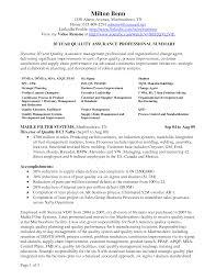 Sample Qa Tester Resume by Resume Qa Qc Resume Sample
