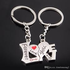best gift for s day keychain s day gift couples i you forever word