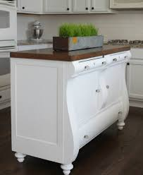 moving kitchen island antique hutch to a kitchen island colors and craft