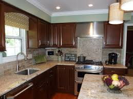 kitchen with brick backsplash faux brick veneer pic with faux