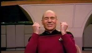 Jean Luc Picard Meme Generator - happy picard meme generator imgflip