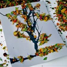 45 fall tree crafts that are gorgeous for to make