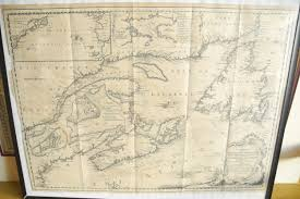 New France Map by Map Antique A New Chart Of The Coast Of New England Nova Scotia