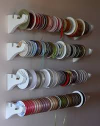 ribbon holders great way to hold all your ribbons hanging ribbon holder storage