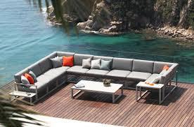 Outdoor Mobel Set Tribu Ninix Nnxl 160 Lounge Bench Garden Sofas From Royal Botania