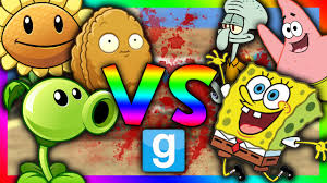 plants vs spongebob gmod sandbox spongebob mod plants vs