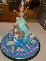 little mermaid cake ideas