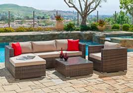 Sectional Patio Furniture Sets Suncrown Outdoor Furniture Sectional Sofa Chair 6 Set Review