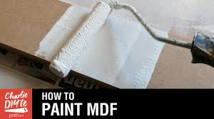 how to paint mdf video 1 youtube